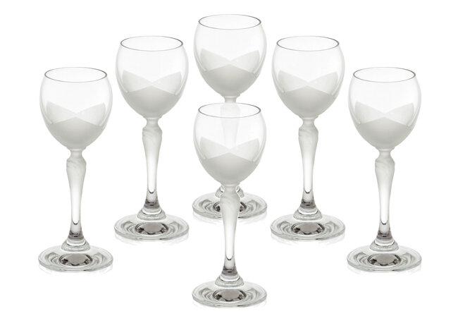 Bộ 6 ly thủy tinh uống rượu vang Bohemia 2227/00005/6005/060