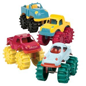 Bộ 6 xe tải răng cưa Battat BT2443
