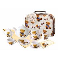 Bộ ấm trà gấu yêu Just for chef CH12012 - 18 món