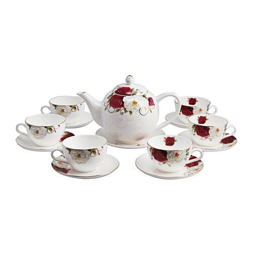 Bộ ấm và tách trà sứ xương Bone Porcelain 145570