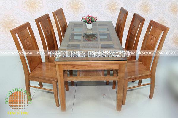 Bộ bàn ăn 6 ghế EPA-163