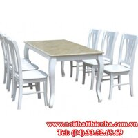 Bộ bàn ăn HGB61+HGG61