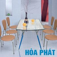 Bộ bàn ghế ăn gia đình Hòa Phát B48,G27