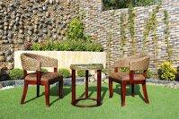Bộ bàn ghế cafe lục bình ATC Furniture WAIS-098