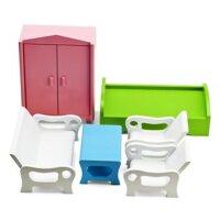 Bộ bàn ghế, giường tủ Edugames GA514