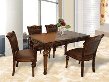 Bộ bàn ghế phòng khách Charles - 1.3 m , 4 ghế
