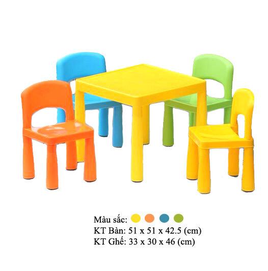 Bộ bàn ghế trẻ em 2391