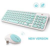 Bộ bàn phím + chuột Forter không dây iK6630