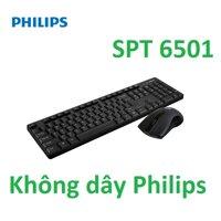 Bộ bàn phím chuột không dây Philips SPT6501