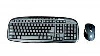 Bộ bàn phím + chuột không dây E-DRA EC888BK