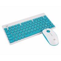 Bộ bàn phím + chuột không dây chống ồn Forter 1500