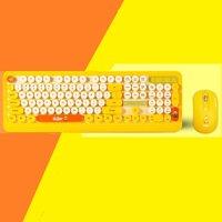 Bộ Bàn phím + Chuột không dây PSPY K68