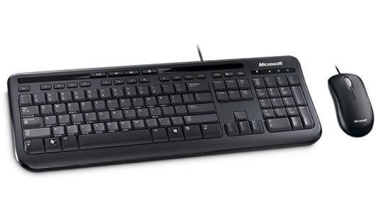 Bộ bàn phím và chuột có dây Microsoft Wired Desktop 600