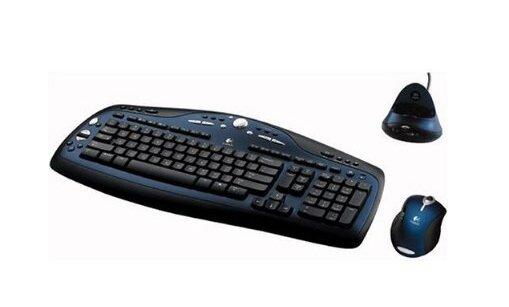 Bộ bàn phím và chuột không dây Logitech MX 3100