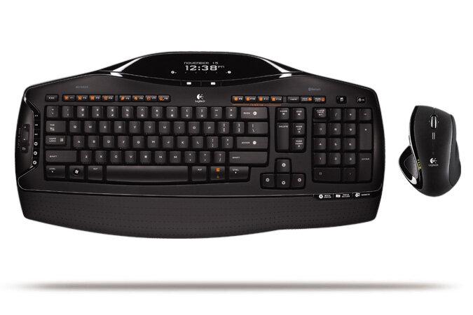 Bộ bàn phím và chuột không dây Logitech MX5500