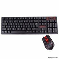 Bộ bàn phím và chuột không dây Hk6500