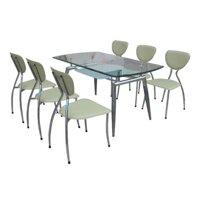 Bộ bàn phòng ăn Hòa Phát G52-B52