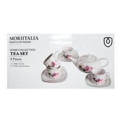 Bộ bình trà 9 món Moriitalia 400179