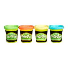 Bộ bột nặn 4 màu dạ quang Play-Doh B3670