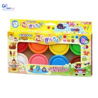 Bộ bột nặn 8 màu Nhật Bản JPG0004