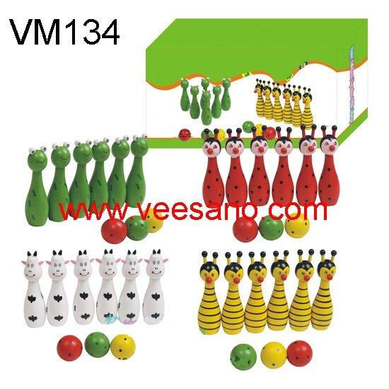 Bộ Bowling con vật Veesano VM134
