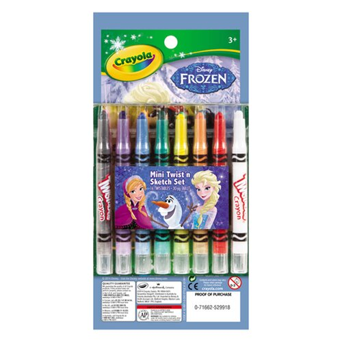 Bộ bút giấy tô màu và bút sáp Crayola 5299110000