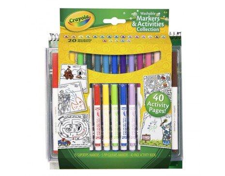 Bộ bút lông và giấy tô màu Crayola 04-5715 (045715A000)