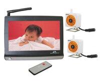 Bộ Camera giám sát trẻ em Avantech WRC860+WCM702
