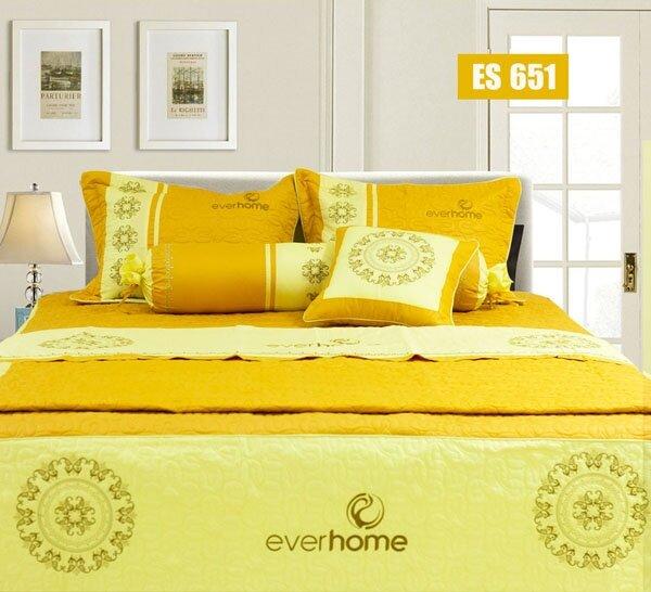 Bộ chăn ga gối Everhome ES 651