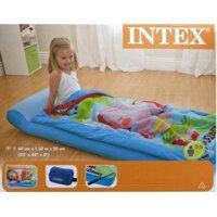 Bộ chăn, gối, đệm hơi, túi ngủ trẻ em Intex 66802
