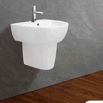Bộ chậu rửa Lavabo treo tường Viglacera VI51