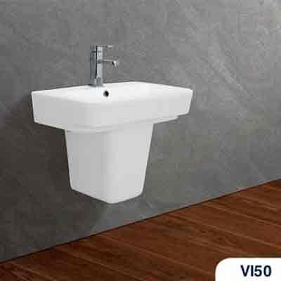 Bộ chậu rửa Lavabo treo tường Viglacera VI50