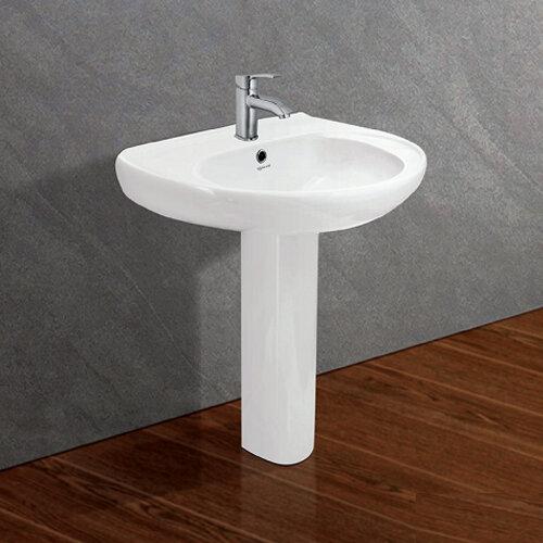 Bộ chậu rửa Lavabo treo tường Viglacera VI2