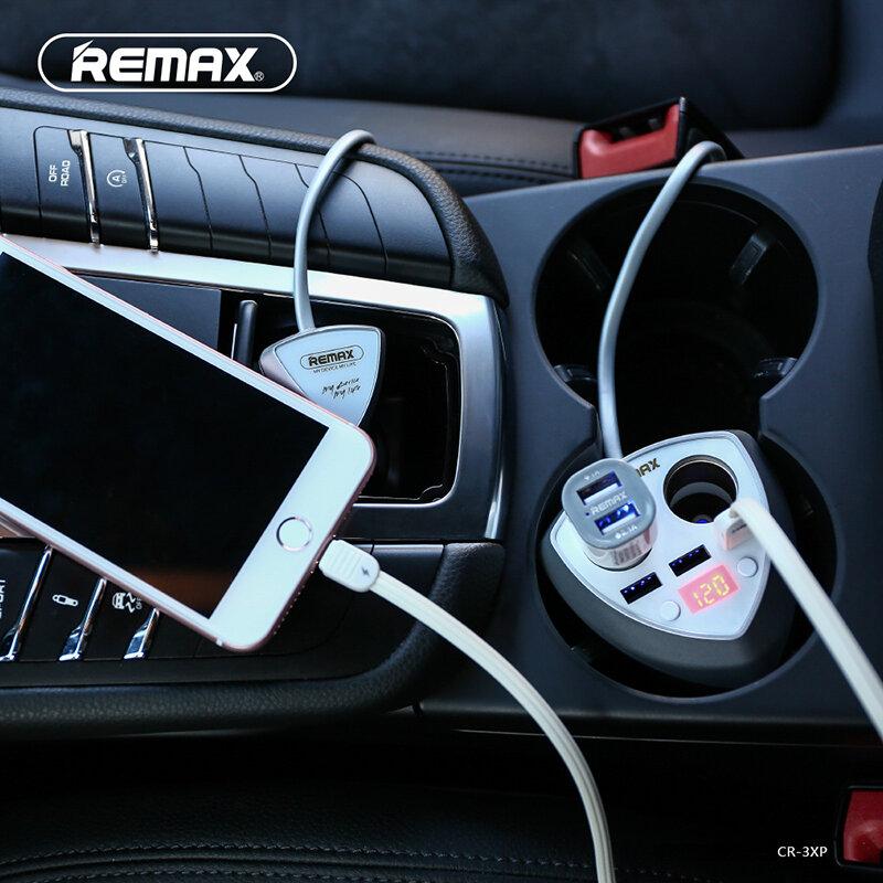 Bộ chia sạc trên ô tô Remax CR-3XP