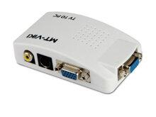 Bộ chuyển đổi AV/Svideo to VGA MT-TP02 chính hãng MT-VIKI
