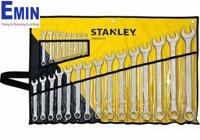 Bộ cờ lê đầu tròng đầu mở 23 chi tiết Stanley 33-650