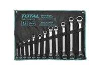 Bộ cờ lê hai đầu vòng 12 chi tiết Total THT1024121 6-32mm