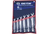 Bộ cờ lê miệng tuýp 6 cái hệ mét Kingtony 1B06MR - 10-19mm