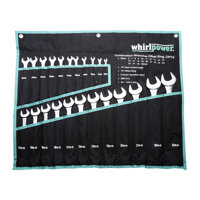 Bộ cờ lê vòng miệng Whirl Power 124-TV01-0223, 23 chi tiết
