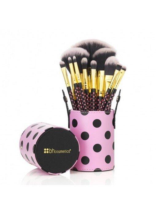 Bộ cọ Pink A Dot Brush Set 11 cây BH Cosmetics