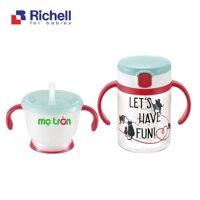 Bộ cốc ống hút Richell RC41043