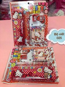 Bộ Combo học tập Hello Kitty