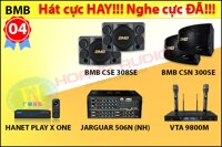 Bộ dàn hát karaoke loa BMB 04