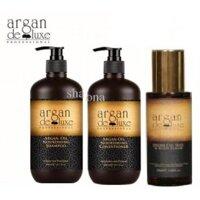 Bộ dầu gội xả phục hồi tóc Argan Deluxe Canada