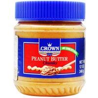 Bơ đậu phộng Chunky Crown 340g