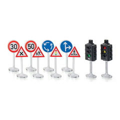 Bộ đèn giao thông và biển báo SIKU 5597S
