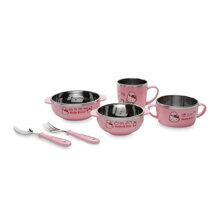 Bộ đồ ăn Hello Kitty Lock&Lock LKT473S5