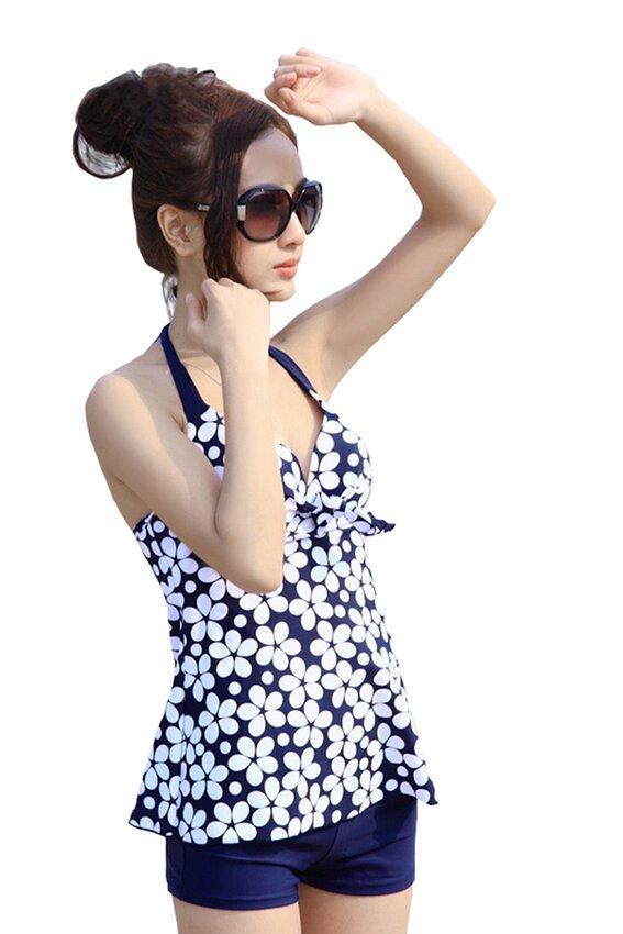 Bộ đồ bơi Short Hoa cực xinh BK069