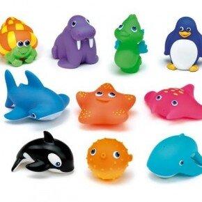 Bộ đồ chơi 10 sinh vật nước ngọt Munchkin MK14804
