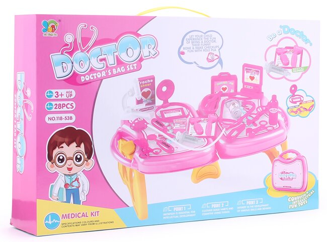 Bộ đồ chơi bác sỹ Paktattoys HSP806777